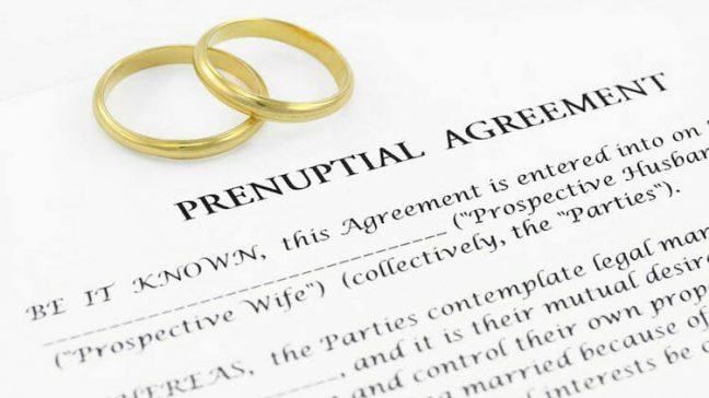 Prenuptial agreement in Michigan
